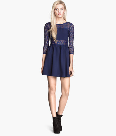 H&M sukienka z koronka 99,90