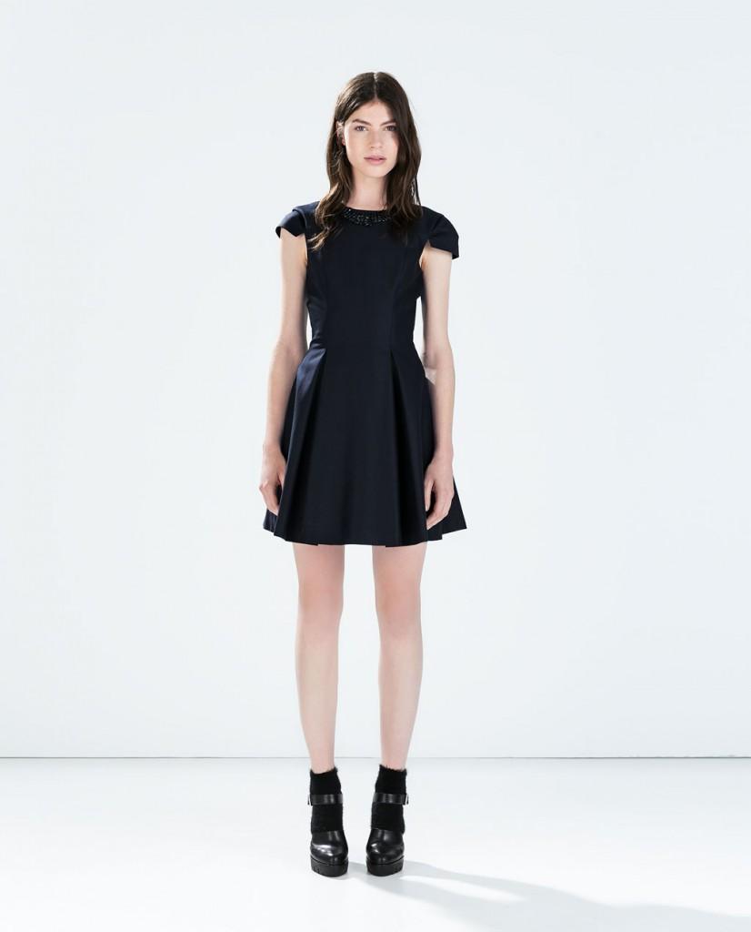 ZARA sukienka z ozdobieniem 199,00